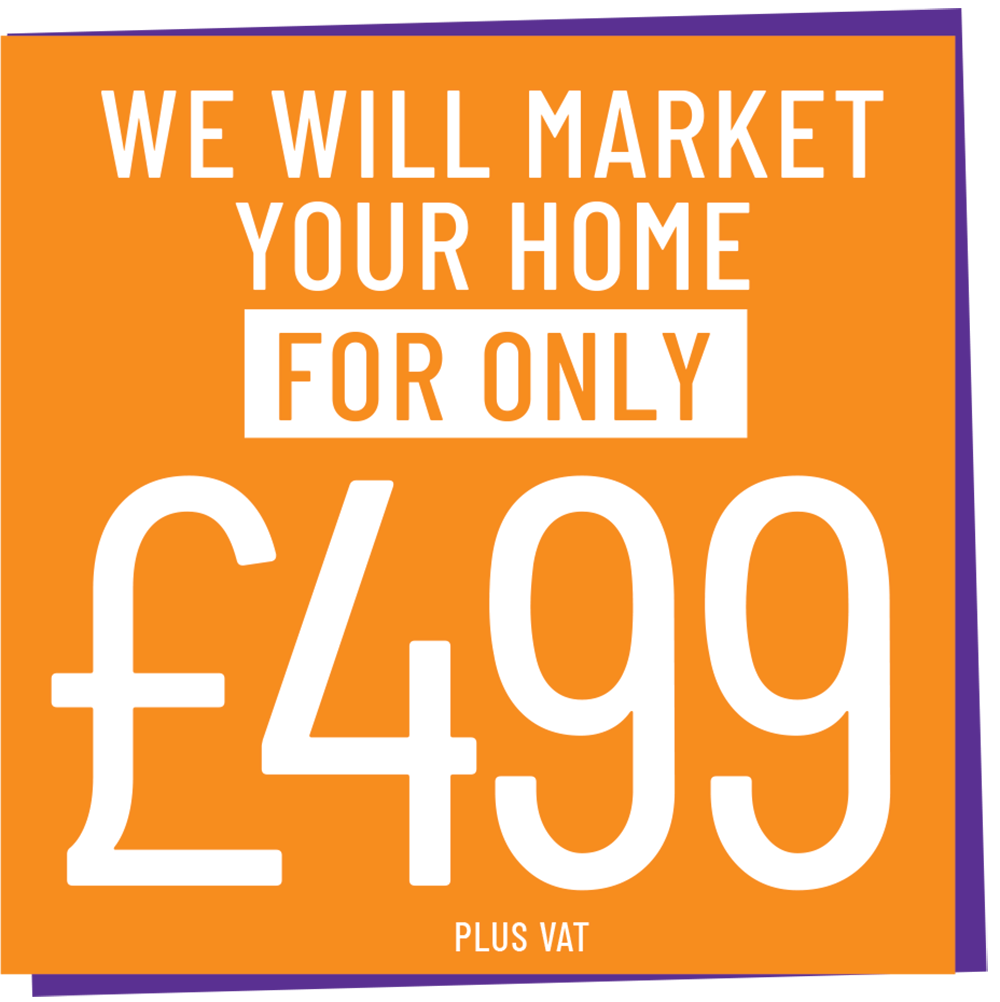 We will market your home for £499